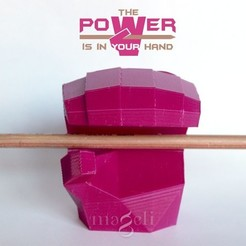 Download free 3D printing models PowerHand, mageli