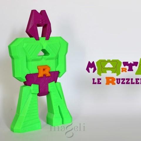 Free 3D printer files Ruzzlebot Martin, mageli