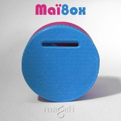 Free 3D printer designs Maï8ox, mageli