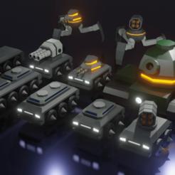 Vehicles.png Download free STL file War Vehicles • Design to 3D print, octmunoz3d