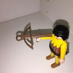 IMG_6638.JPG Download free STL file Playmobil Crossbow • Object to 3D print, Black_Jack_Dagger