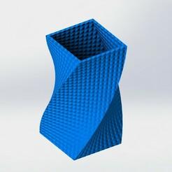 Vase twist.JPG Download STL file vase twist • Template to 3D print, ubtechdesign
