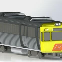 EMU-1.JPG Download STL file EMU Train Model • 3D printing model, ubtechdesign