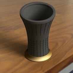 1.jpg Download STL file 3D Printable Vase, Flowerpot • Design to 3D print, AnlBozkurt