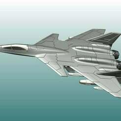 resize-01.jpg Télécharger fichier STL gratuit F-95 Morningstar (Commandant d'escadre II) • Objet pour impression 3D, lypstudios