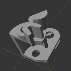 e39door_render.png Download STL file BMW E39 rear door handle internal gear wheel • 3D printing model, lzoltan