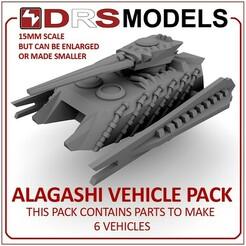 alagashimbt.jpg Télécharger fichier STL PACK DE VÉHICULES ALAGASHI À L'ÉCHELLE 15MM • Modèle pour impression 3D, DRSMODELS