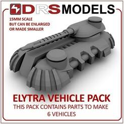 elytrambt.jpg Télécharger fichier STL PACK DE VÉHICULES ELYTRA À L'ÉCHELLE 15MM • Design à imprimer en 3D, DRSMODELS
