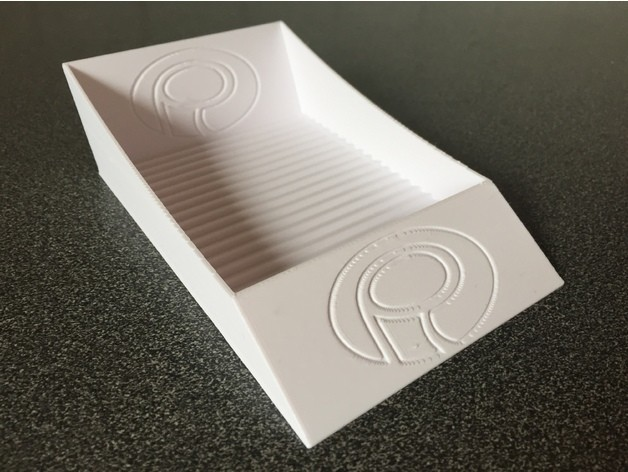 2d3c662d89271980ced20a5da0e601ba_preview_featured.jpg Download free STL file Palmiga Business Card Stand • 3D printable model, Palmiga
