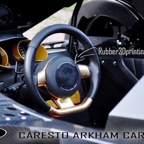 Capture d'écran 2016-12-26 à 10.25.55.png Download free STL file Palmiga Caresto Arkham Car steering wheel cap - Keychain token • 3D print template, Palmiga