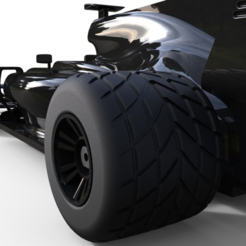 Download free STL file OPENRC F1 2017 updated Rain Tires • 3D printing template, Palmiga