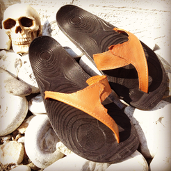 Palmiga_sandals-V0.2_onfeet_skull.png Download free STL file Palmiga Sandals V0.2 • 3D printable model, Palmiga
