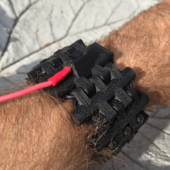 Download free STL files Palmiga Bracelet and/or ESD Anti Static Wrist Strap, Palmiga