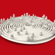 Capture d'écran 2017-12-26 à 11.12.00.png Download free STL file Christmas Tree Spiral Bauble with Xmas Trees & Snowmen • 3D printable template, Palmiga