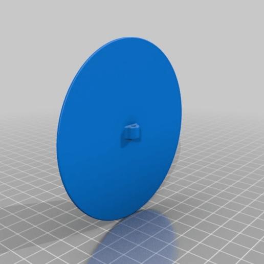 Electrode_round_90_filament.png Télécharger fichier STL gratuit Mise à la terre, TENS, ESD, EMG, EKG Capteurs Plaques d'électrodes avec des trous de 2 mm de diamètre • Plan à imprimer en 3D, Palmiga