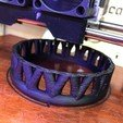Free 3D print files Palmiga Bracelet - Ring Collection, Palmiga