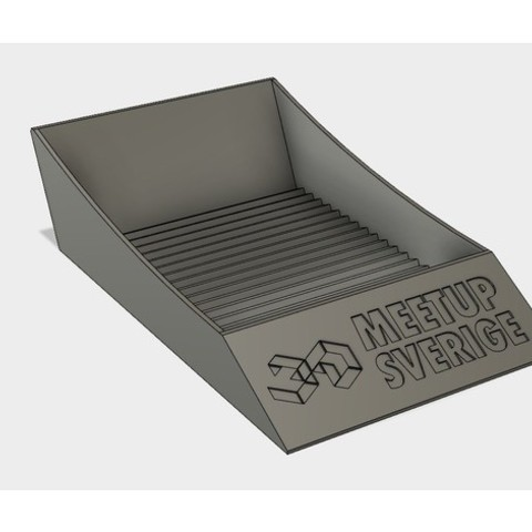 3aa3cecf1cc0ea9265b7e6abd28eb55e_preview_featured.jpg Download free STL file Palmiga Business Card Stand • 3D printable model, Palmiga