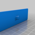 Electrode_100x35_filament.png Télécharger fichier STL gratuit Mise à la terre, TENS, ESD, EMG, EKG Capteurs Plaques d'électrodes avec des trous de 2 mm de diamètre • Plan à imprimer en 3D, Palmiga