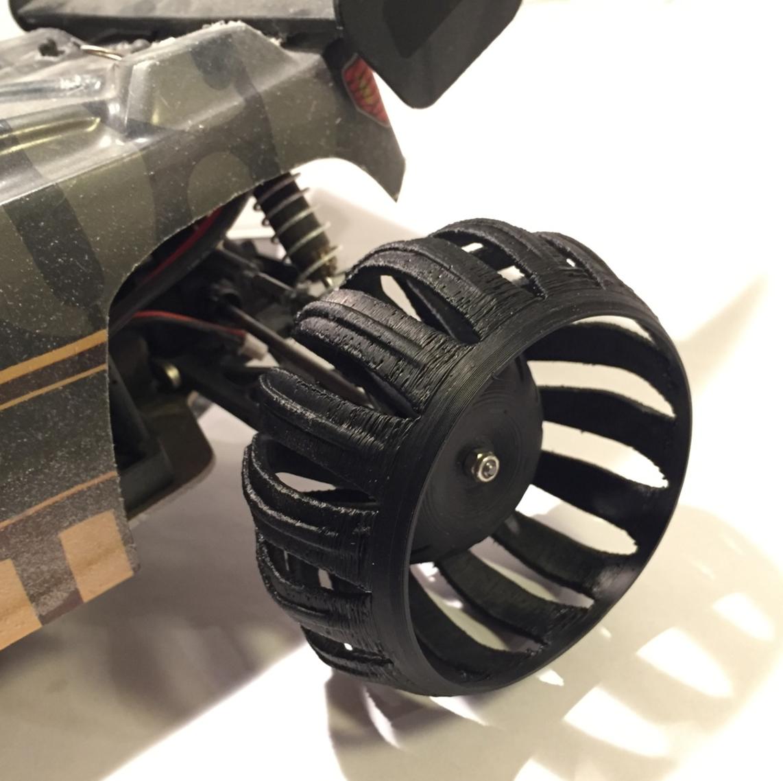 Capture d'écran 2017-04-24 à 17.59.42.png Télécharger fichier STL gratuit OpenRC Truggy Springy Fun Wheels • Design imprimable en 3D, Palmiga