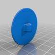Electrode_round_35_filament.png Télécharger fichier STL gratuit Mise à la terre, TENS, ESD, EMG, EKG Capteurs Plaques d'électrodes avec des trous de 2 mm de diamètre • Plan à imprimer en 3D, Palmiga