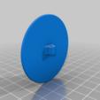 Electrode_round_50_filament.png Télécharger fichier STL gratuit Mise à la terre, TENS, ESD, EMG, EKG Capteurs Plaques d'électrodes avec des trous de 2 mm de diamètre • Plan à imprimer en 3D, Palmiga