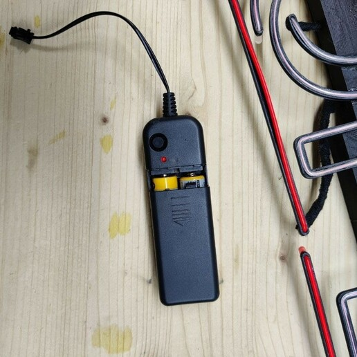 """Controller.jpg Télécharger fichier STL Panneau """"Ouvert"""" EL WIRE • Plan pour imprimante 3D, DiGave"""