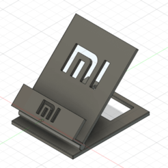 suppfu1-ConvertImage.png Download free STL file Mobile xiaomi support • 3D printable design, linuxien2694