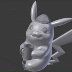 Captura de pantalla 2019-05-12 a la(s) 19.28.18_large.png Download STL file DETECTIVE PIKACHU • 3D printable object, alekstobias