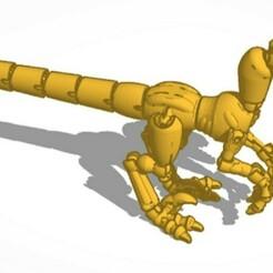 dino squelete.jpg Télécharger fichier STL gratuit Dinosaure Squelette  • Design imprimable en 3D, Kurome