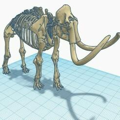 mamouth 2.jpg Télécharger fichier STL gratuit Mammouth Squelette • Design pour impression 3D, Kurome