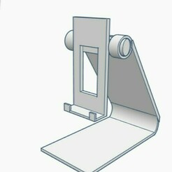 Support1.jpg Download free STL file Phone support • 3D print object, Kurome