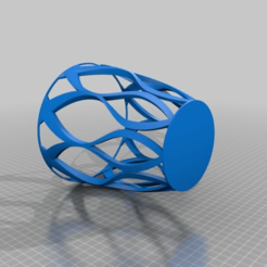 47ca5f713ace241a6897cbdd24f2fc5f.png Télécharger fichier STL gratuit Pot à crayons à courbes organiques • Plan pour imprimante 3D, Monomethylhydrazine