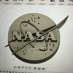 NASA_logo.png.JPG Download free STL file 3D NASA logo • 3D printing design, Monomethylhydrazine