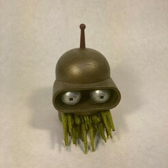 Cthulu bender 1.jpeg Download free STL file Cthulhu Bender Head • Object to 3D print, Monomethylhydrazine