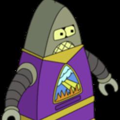 preacherbot.png Download free STL file Preacherbot [Futurama] • 3D printable design, Monomethylhydrazine