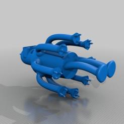 843fd0f57bb92240a06c56fc62f207e7.png Download free STL file Octopus Bender • 3D printable template, Monomethylhydrazine