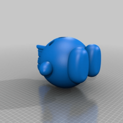 853471edd556aff09712b5a6fe75df6a.png Télécharger fichier STL gratuit Mohawk Kirby [Nintendo] • Objet à imprimer en 3D, Monomethylhydrazine