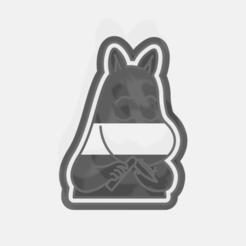 cutter hippo.png Télécharger fichier STL Paquet de moomin de l'emporte-pièce • Plan pour imprimante 3D, andresleon_s