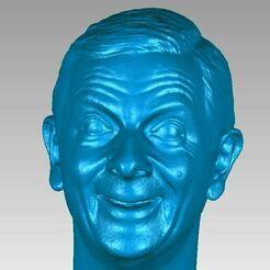 Mr Bean Head view1.JPG Télécharger fichier OBJ M. Bean Head Scan 3D • Objet à imprimer en 3D, 3D-Scan-Art