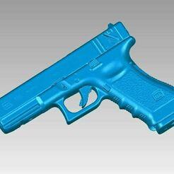 Glock 18C View1.JPG Download OBJ file Real Glock 18C Replica 3D Scan • 3D printable design, 3D-Scan-Art