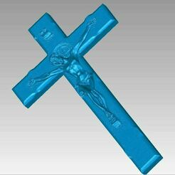Crucifix view1.JPG Download OBJ file Crucifix Jesus on Cross Hanging Christian Worship 3D Scan • Object to 3D print, 3D-Scan-Art