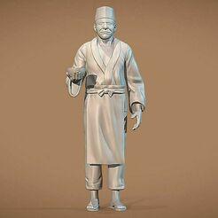 teuchi-narutos-sushiman-3d-model-fbx (1).jpg Télécharger fichier STL Modèle 3D de Teuchi Narutos Sushiman • Modèle imprimable en 3D, kleberrcosta