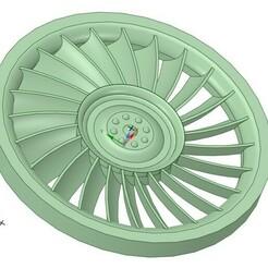 fan.jpg Télécharger fichier STL DEAGOSTINI MILLENNIUM FALCON ENGINE FAN • Objet à imprimer en 3D, LukeZ