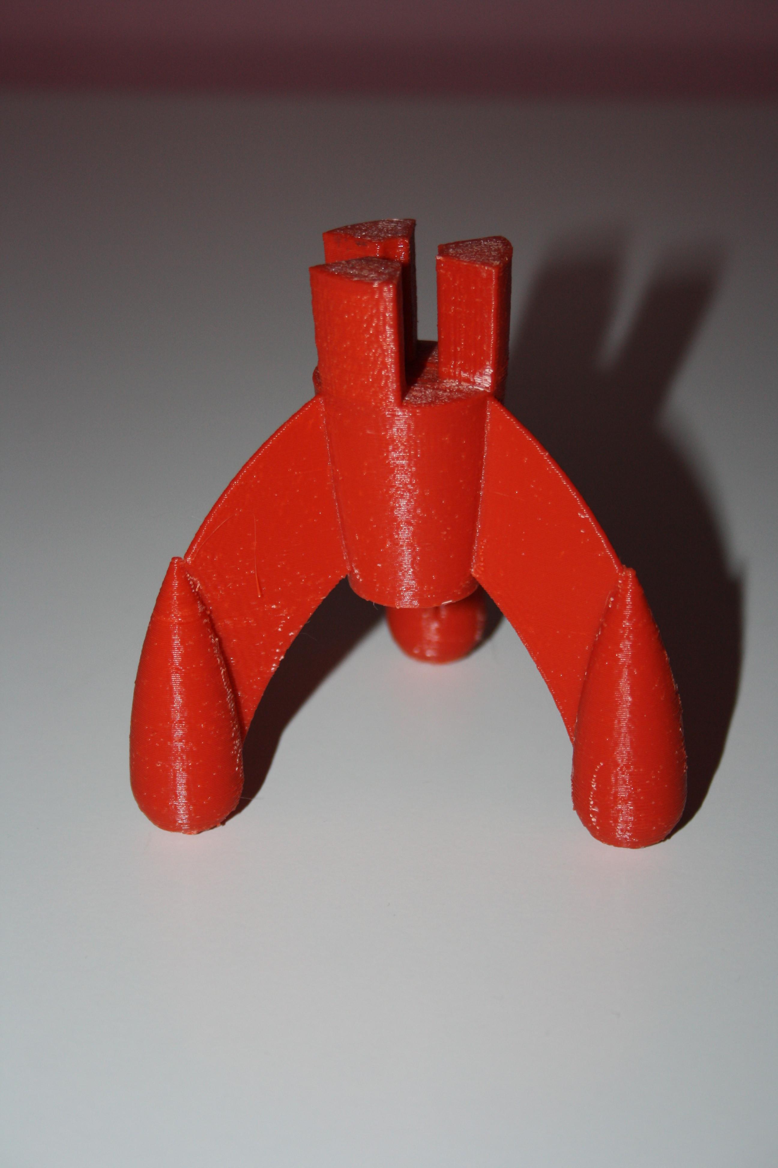 Fusee_Tintin_008.JPG Download free STL file Tintin Rocket • 3D printable object, JJB