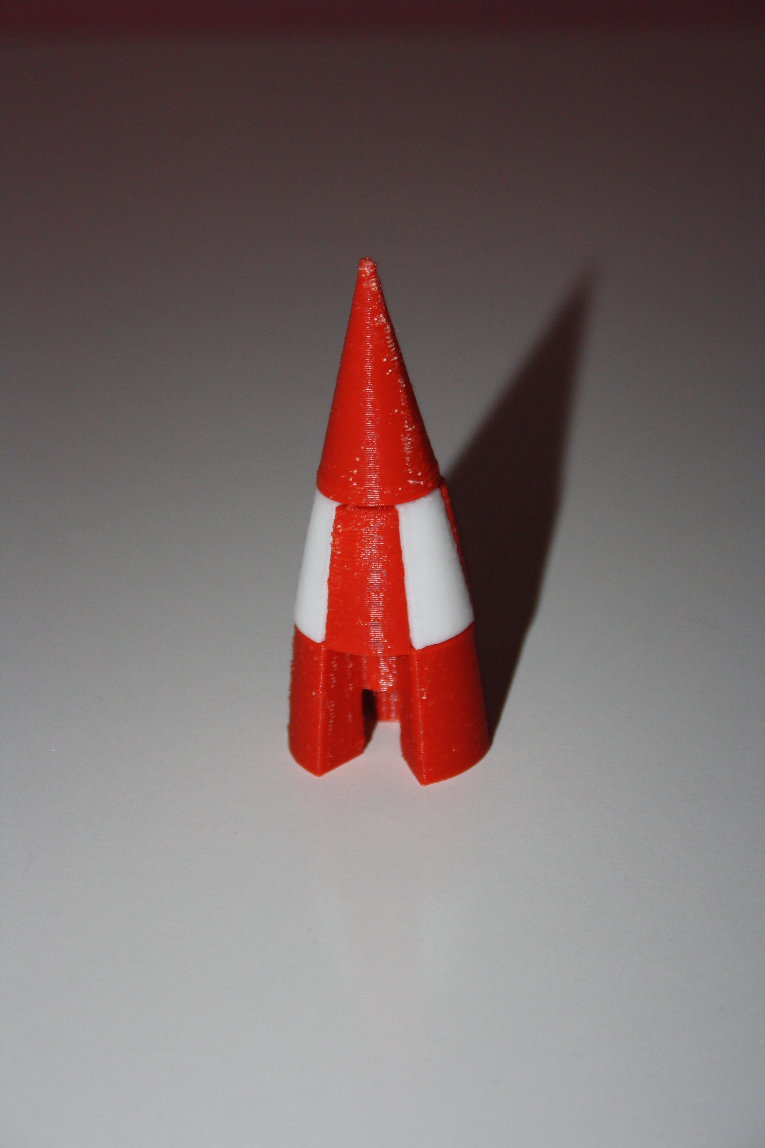 Fusee_Tintin_009.JPG Download free STL file Tintin Rocket • 3D printable object, JJB