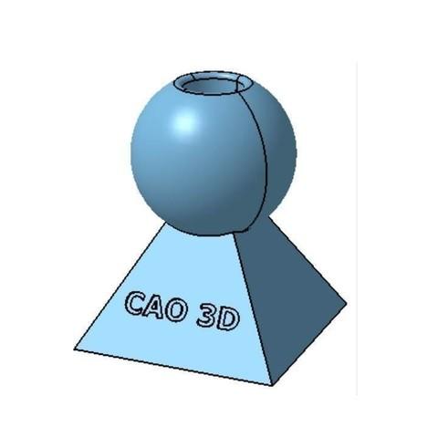 Pr_sentation_support_crayon_boule.jpg Download free STL file Support-crayon • 3D printing model, JJB