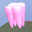 Dent3.png Download STL file Molar tooth • 3D printing object, JJB