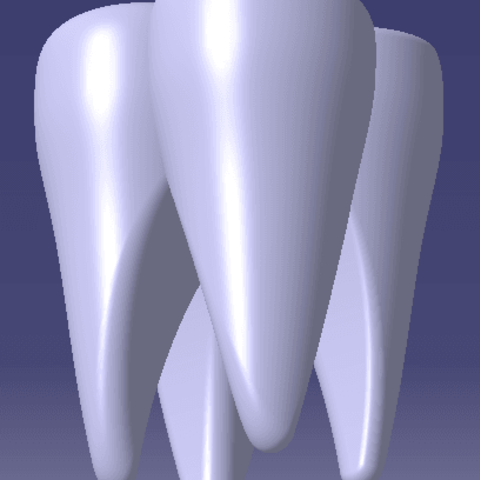 Dent2.png Download STL file Molar tooth • 3D printing object, JJB
