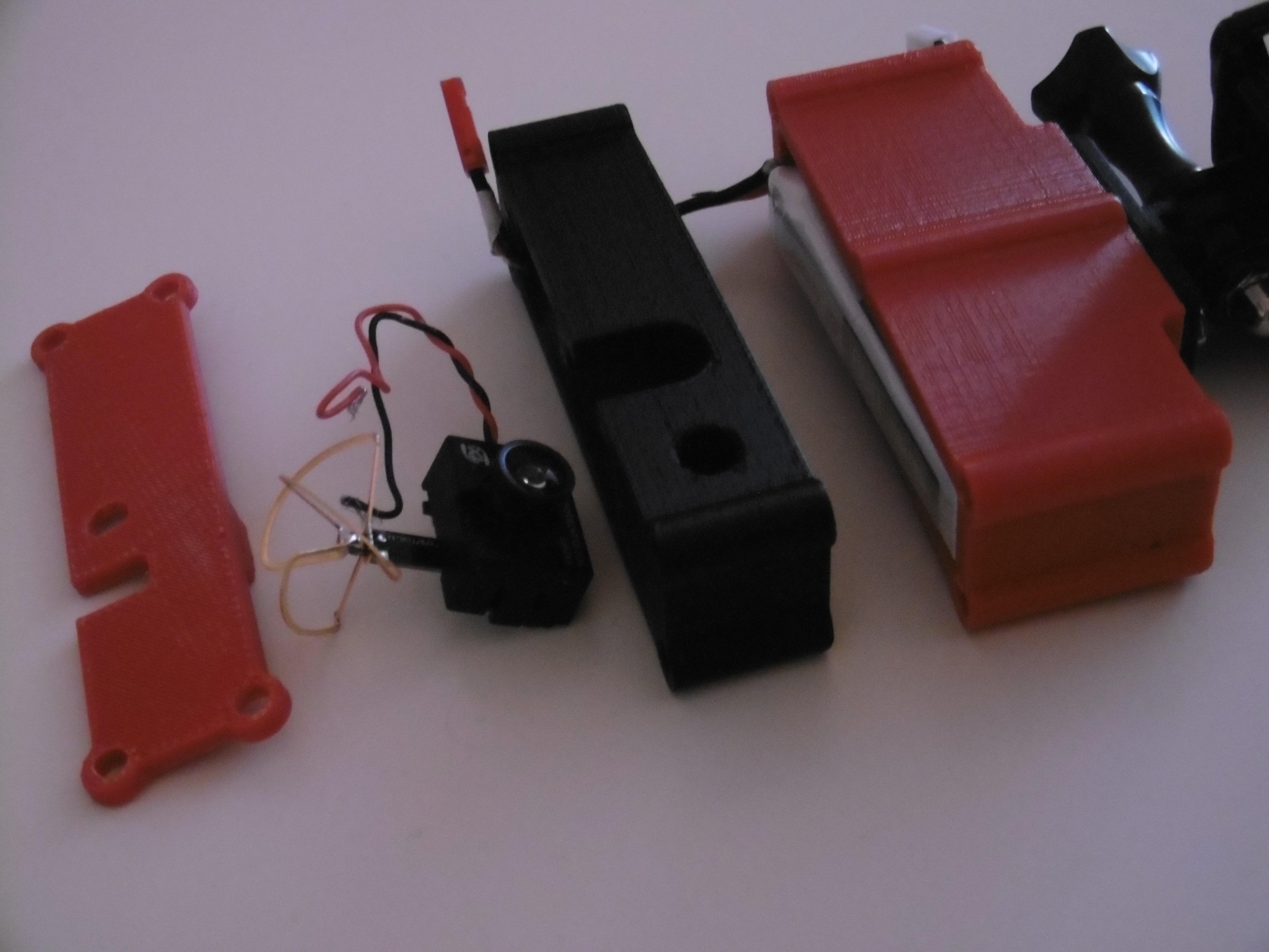 P1000959.JPG Download free STL file 5.8GHz Transmitter Holder with Miniature Camera • 3D printable object, JJB