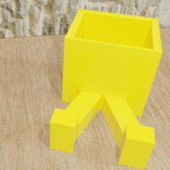 maceta foto 2.png Download STL file Charismatic flower pots • 3D printer model, PalmaEli